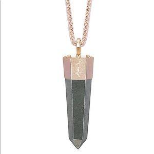 Kendra Scott Jayce Long Necklace in Pyrite